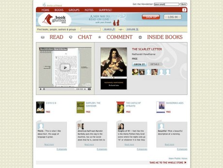 BookGlutton Site Circa 2009